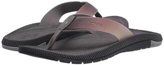 OluKai Welo (Charcoal/Charcoal) Men's Sandals