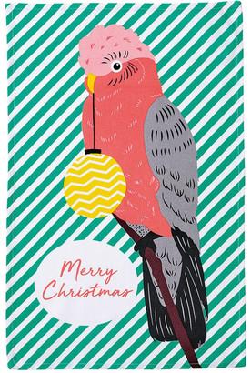 Ladelle Birds of Christmas Galah Kitchen Towel