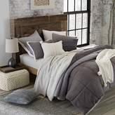 UGG Hudson Reversible 3-Piece King Comforter Set in Grey