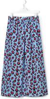 MSGM long printed skirt - kids - Silk - 14 yrs