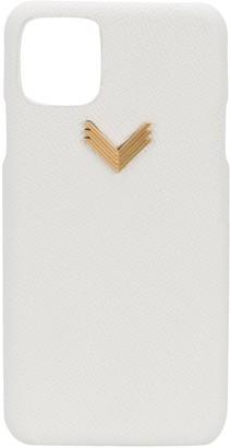 Manokhi x Velante logo iPhone 11 Pro Max case