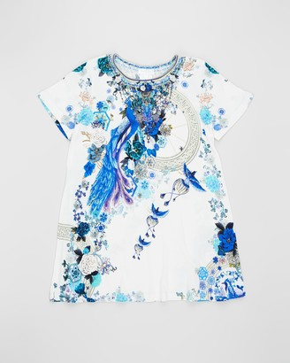Camilla T-Shirt Dress with Flare Hem - Teens