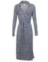 Diane von Furstenberg Silk Wrap-over Dress