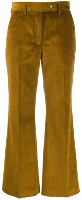 Acne Studios Corduroy Cropped Trousers