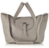 Meli-Melo Women's Grey Leather Tote.