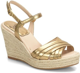 Sofft Jute Wedge Sandals - Solani