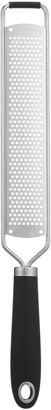John Lewis & Partners Stainless Steel Etched Fine Grater