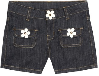 Little Marc Jacobs Embellished denim shorts
