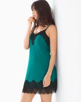 Soma Intimates A-Line Sleep Chemise Green Envy