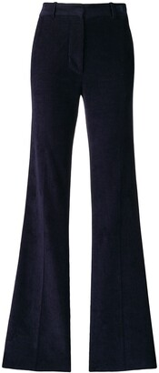 Victoria Beckham High Waisted Flare Trousers