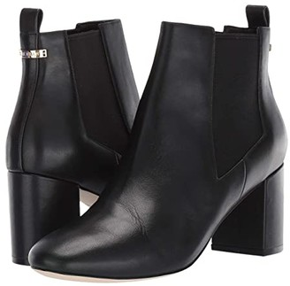 Cole Haan Nitasha Bootie 65 mm (Black Leather/Tonal Gore) Women's Shoes