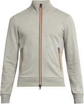 Moncler Zip-through cotton sweatshirt