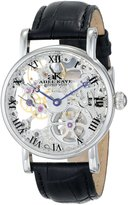 Adee Kaye Men's AK4005-M SILVERTONE Ak4005-M-Svr Mechanical Le Bauches