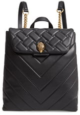 Kurt Geiger London Kensington Quilted Leather Backpack