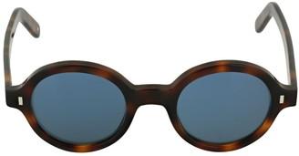 L.G.R Reunion Bolded Round Acetate Sunglasses