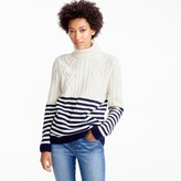 J.Crew Saint James® Amos nautical turtleneck sweater