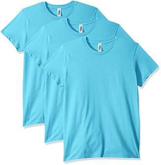 Marky G Apparel Women's Fine Jersey Short Sleeve T-Shirt (3 Pack)