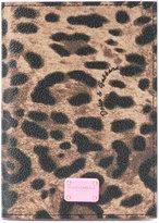 Dolce & Gabbana leopard print wallet - women - Leather - One Size