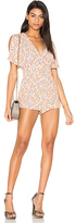 Free People Meet Virginia Romper in Pink