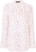 Steffen Schraut heart print shirt