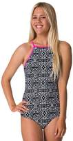 Rip Curl Girls Isla Tribal High Neck One Piece