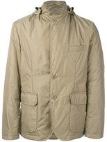 Aspesi hooded waterproof blazer