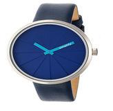 Simplify Unisex Blue Strap Watch-Sim4005