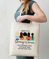 Love You A Latte Shop Love you a Latte Shop Women's Totebags Natural - 'Here's to Strong Women' Tote