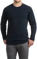 Specially made Brushed Crew Neck Shirt - Long Sleeve (For Men)