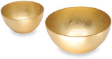 N. Beatriz Ball New Orleans Glass Round Bowls, Set of 2
