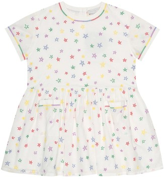 Stella McCartney Kids Embroidered cotton dress