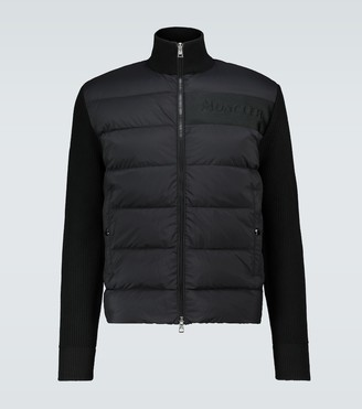 Moncler Tricot padded cardigan
