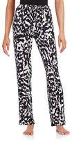 Lord & Taylor Printed Pajama Pants