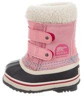 Sorel Girls' Round-Toe Snow Boots