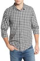 RVCA Hayes Plaid Flannel Sport Shirt