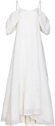 Rosie Assoulin Ra Ra off-shoulder gown