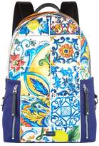 Dolce & Gabbana Printed Volcano Backpack