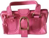 Celine Pink Leather Handbag