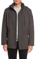 Tumi Men's Understated Commuter Water-Resistant Jacket With Removable Hood