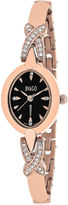 Jivago Womens Rose Goldtone Bracelet Watch-Jv3613