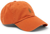 Polo Ralph Lauren Cotton-twill Baseball Cap - Orange