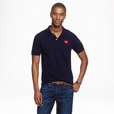 Comme des Garcons PLAY polo shirt in navy