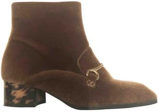 Stella McCartney Stella Mc Cartney Brown Faux fur Boots