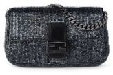 Fendi Embroidered Beaded Micro Baguette