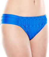 JCPenney STYLUS Stylus Crochet Hipster Swim Bottoms