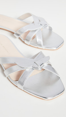 Loeffler Randall Eveline Delicate Strap Flat Sandals