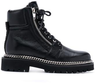 Balmain Ranger Army ankle boots
