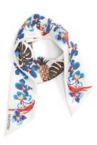 Valentino Women's Tropical Dream Skinny Silk Scarf