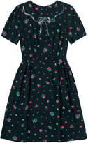 Cath Kidston Scattered Sprigs Dress with Sequin Collar