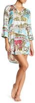 PJ Salvage St. Tropez Travels Print Dress